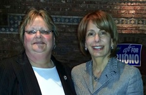 Elizabeth Lynch and Sen. Buono