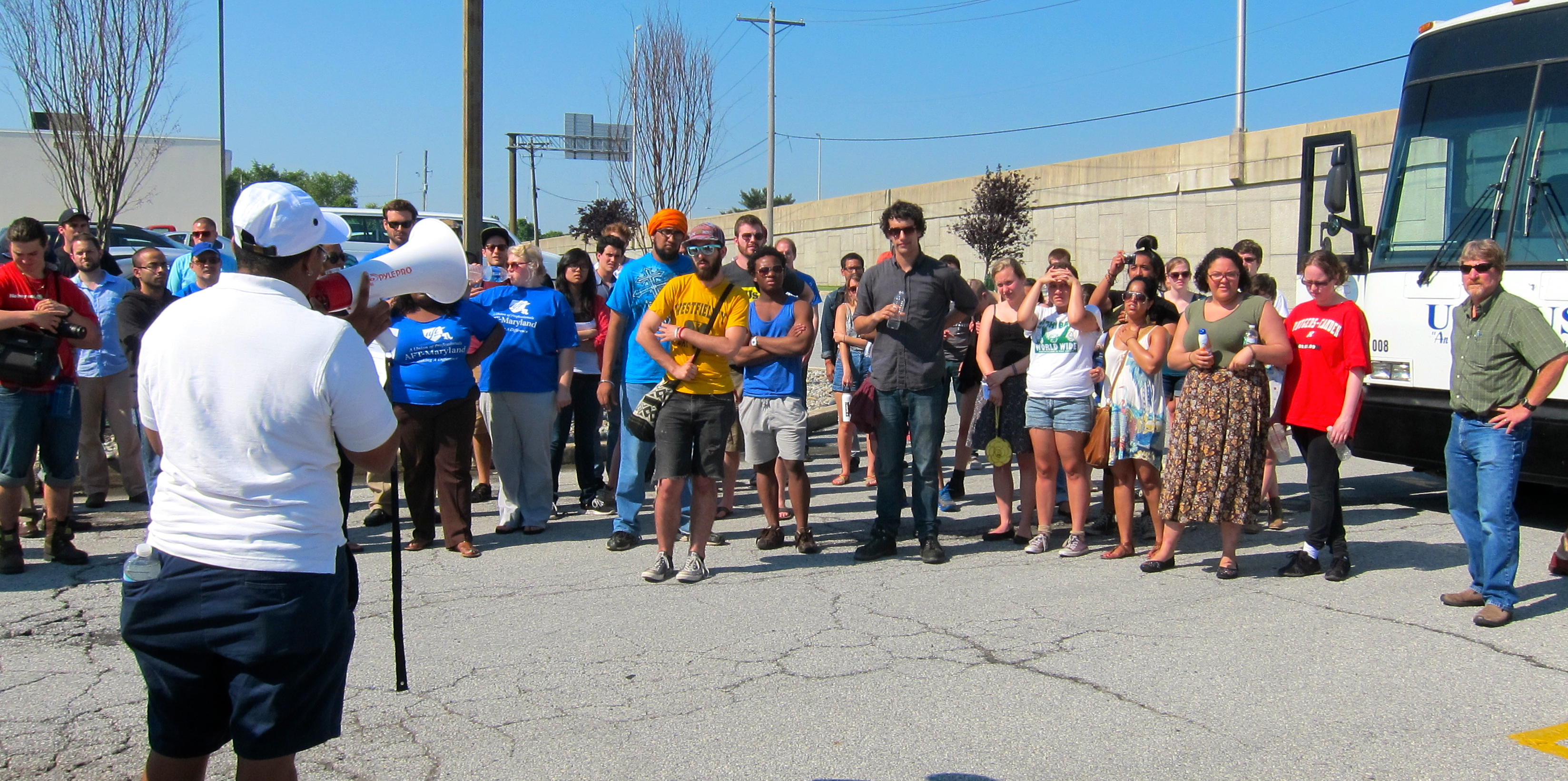 Photos: AFT and students confront Sallie Mae; call for ...