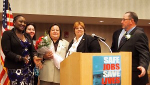 Coalition of Labor Union Women honor Serrano