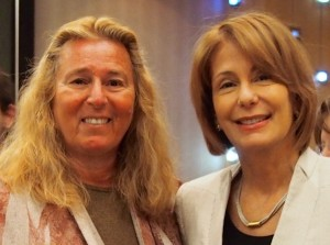 AFTNJ President Donna M. Chiera with Sen. Buono