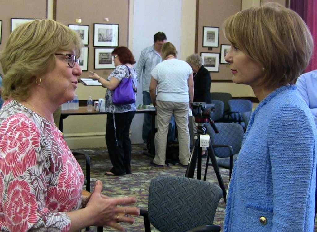 Sen. Buono met with members