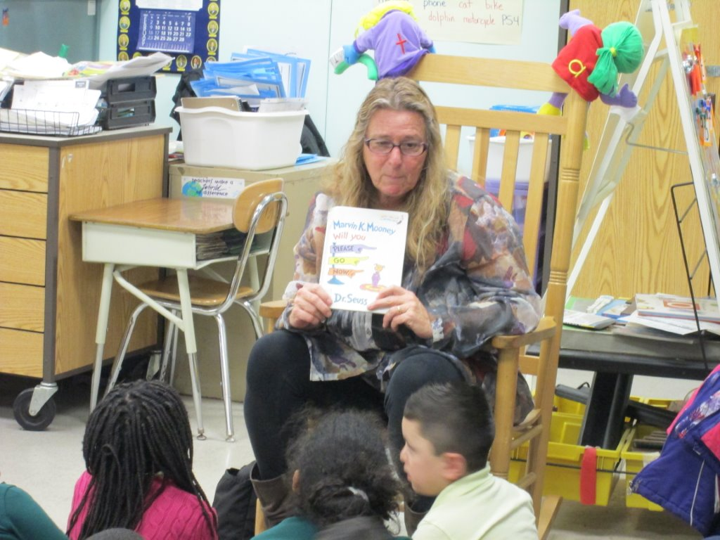 Donna Chiera participates in Read Across America day in Perth Amboy