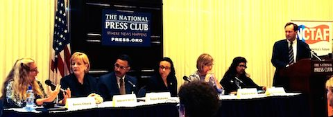 Donna Chiera joins panel to discuss Teaching and Learning International Survey results at National Press Club