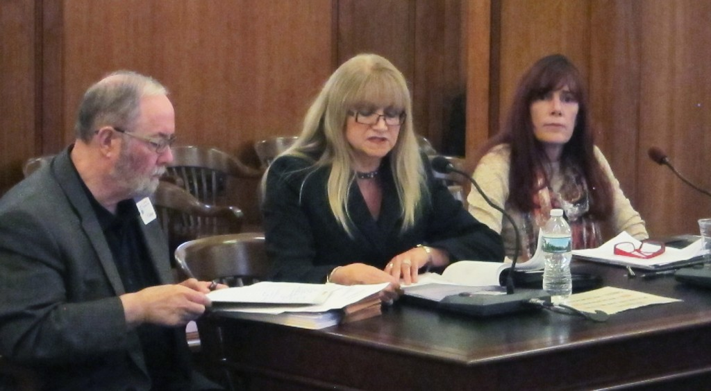 Sue Tardi testifies for Higher Education Affordability Commission