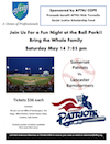 May 14 Night at the Ballpark