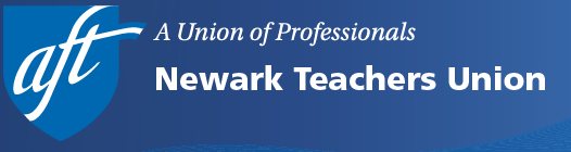 Newark Teachers Union banner