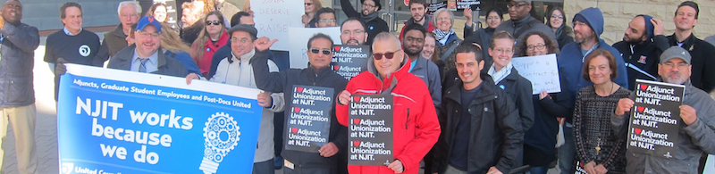 njit adjunct rally