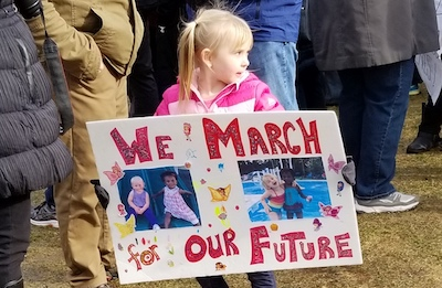 We March For Our Future. Photo: J. Nagle