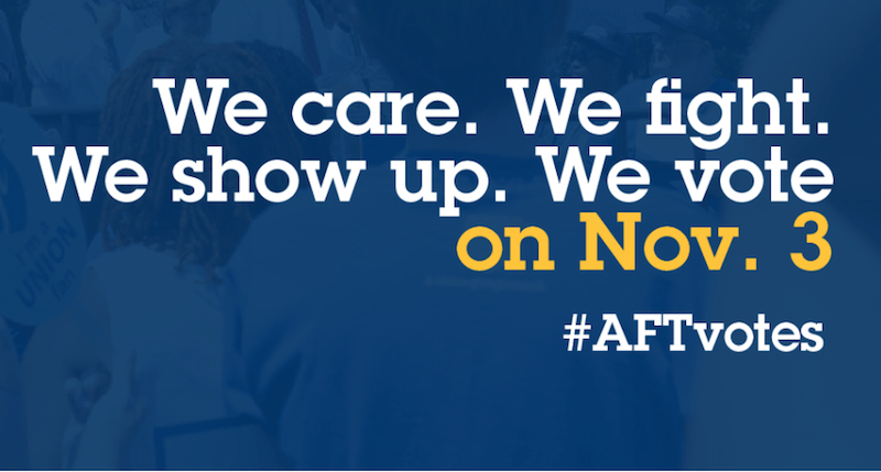 AFT ranks high among most powerful unions in U.S.