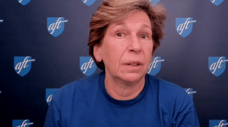 Weingarten to AFTNJ: 'Make sure you have your say' in the 2020 election