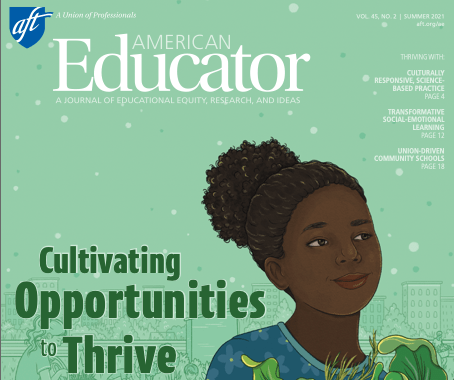 Latest issue of American Educator now available