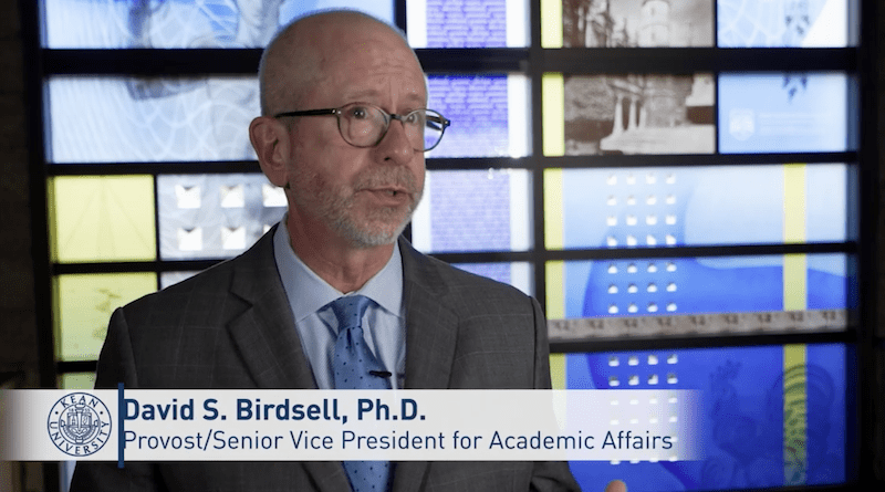 Castiglione is pleased with choice of Birdsell as new Kean provost, SVP