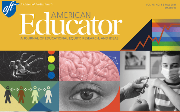 Fall '21 edition of American Educator out now