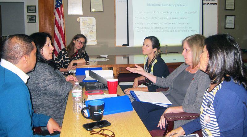 NJ Department of Education ESSA meeting at Perth Amboy Federation