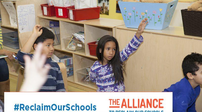kids #reclaimourschools