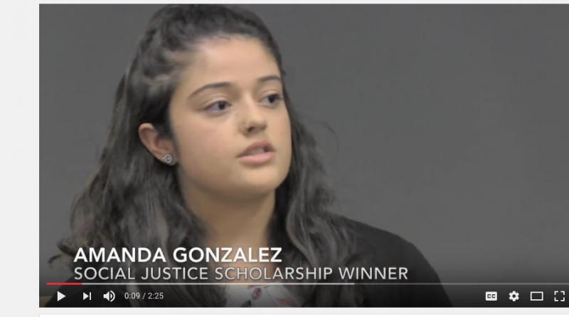 Yovnello Social Justice Scholarship Winners