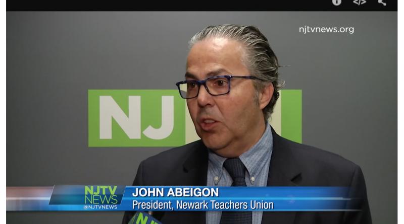 John Abeigon Newark Teachers Union
