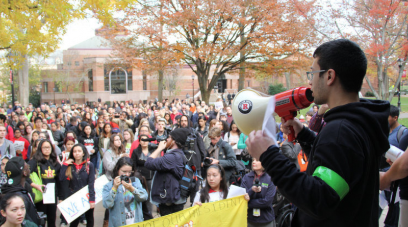 nj.com screen shot rally to make Rutgers a sanctuary campus