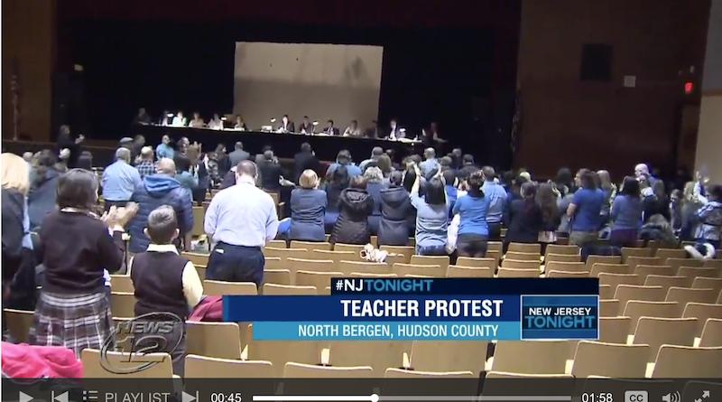 north bergen teacher protest