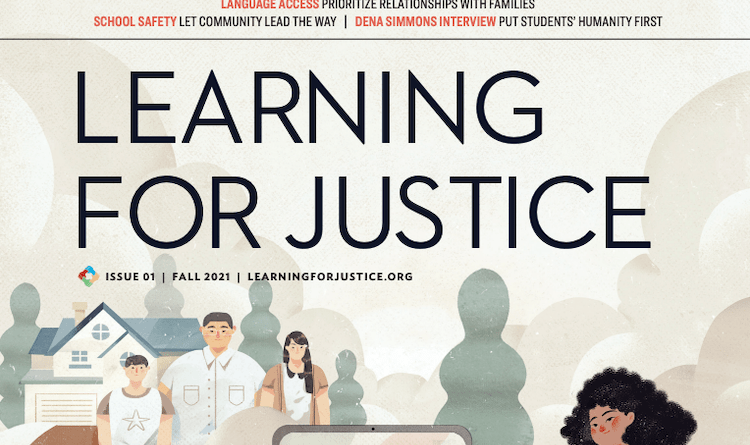 First issue of Learning for Justice magazine out now